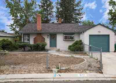Washoe County Single Family Home New: 972 Kimbal Drive