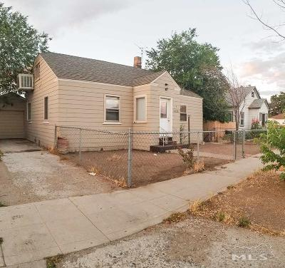 Sparks Single Family Home Active/Pending-Loan: 1810 C Street
