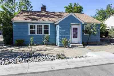 Reno Single Family Home New: 1580 Plumas Street