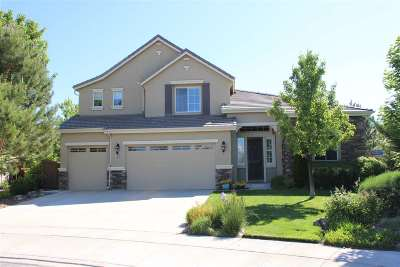 Washoe County Single Family Home For Sale: 7835 Peavine View Court