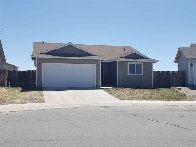 Fernley Single Family Home New: 544 St. Louis Road