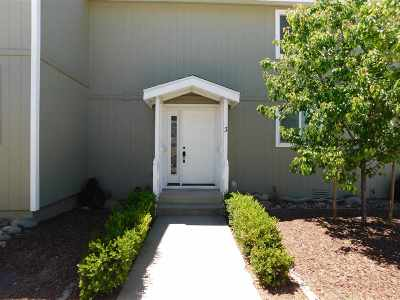 Gardnerville Condo/Townhouse Active/Pending-House: 1264 Redwood Circle #3