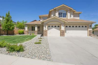Reno Single Family Home New: 2998 Fox Trail Dr
