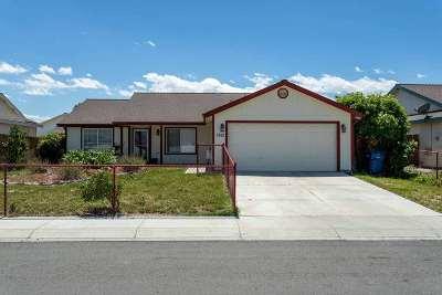 Fernley Single Family Home New: 1523 Wrangler Lane
