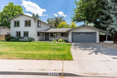 Washoe County Single Family Home For Sale: 3390 Idlewild