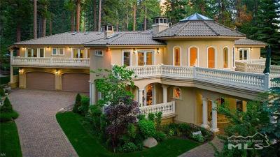 Incline Village Single Family Home For Sale: 1580 Vivian Lane