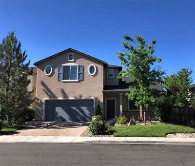 Washoe County Single Family Home New: 1960 Long Hollow