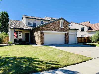 Washoe County Single Family Home New: 6727 Jaquenetta Drive