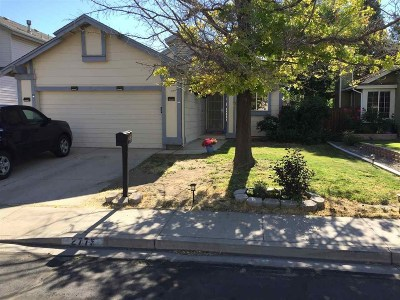 Washoe County Single Family Home New: 2773 Chavez Drive