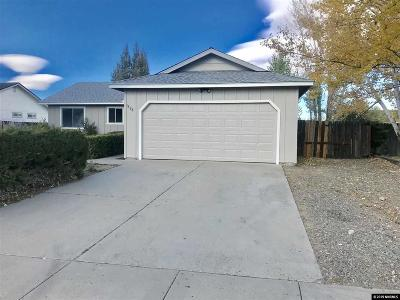 Gardnerville Single Family Home New: 1338 Victoria Dr
