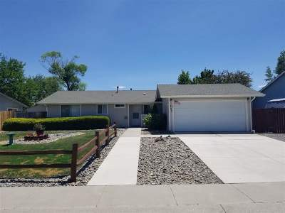 Gardnerville Single Family Home Active/Pending-Call: 707 Hornet