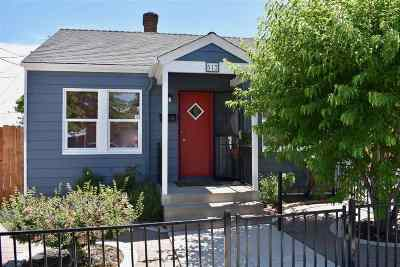 Washoe County Single Family Home Active/Pending-Call: 512 Burns Street