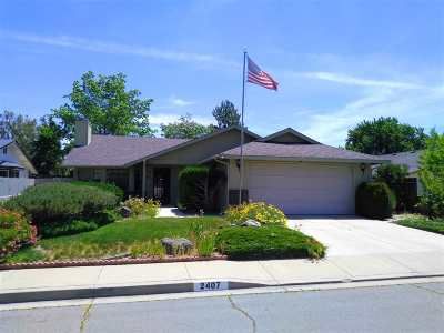 Carson City Single Family Home New: 2407 Diane Dr