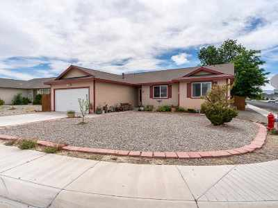 Fernley Single Family Home New: 126 Relief Springs