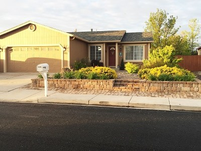 Washoe County Single Family Home New: 5822 Lightning Ct