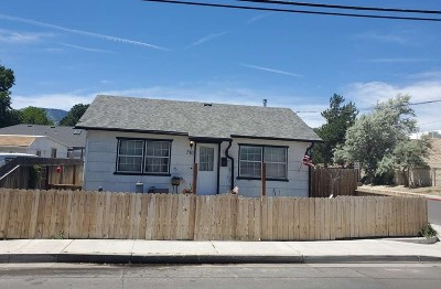 Carson City Single Family Home New: 710 N Walsh St