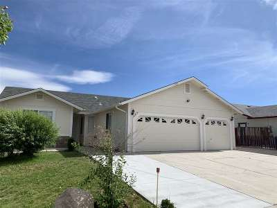 Washoe County Single Family Home New: 1484 Nightingale Way