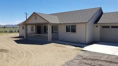 Minden Single Family Home For Sale: 3195 Hobo Hot Springs