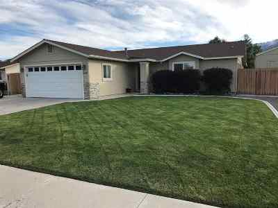 Gardnerville Single Family Home Active/Pending-House: 658 Carmel Way