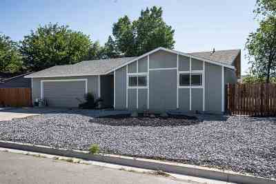 Fernley Single Family Home Active/Pending-Loan: 485 Sycamore St