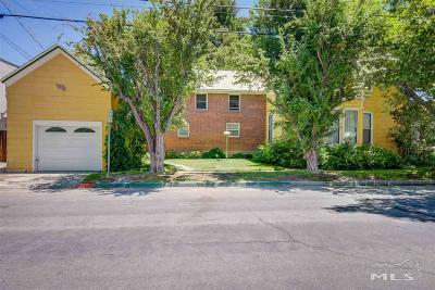 Carson City Single Family Home For Sale: 214 W King St