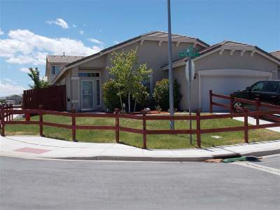 Fernley Single Family Home For Sale: 201 Hazelnut Ct