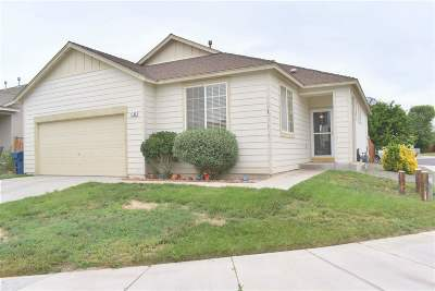 Fernley Single Family Home Active/Pending-Loan: 1140 Shadow Lane