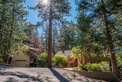 Tahoe City, Stateline, Zephyr Cove Single Family Home For Sale: 315 Ute Way