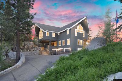 Tahoe City, Stateline, Zephyr Cove Single Family Home For Sale: 450 Kingsbury Grade