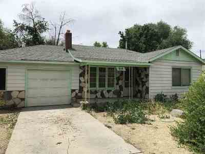 Sparks Single Family Home Active/Pending-Loan: 919 Shriver Blvd