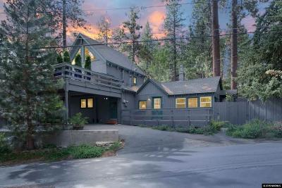 Tahoe City, Stateline, Zephyr Cove Single Family Home For Sale: 190 Tallac Dr