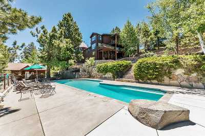 Reno Single Family Home Active/Pending-Loan: 20610 Mount Rose Highway
