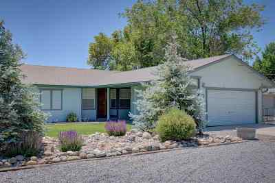 Gardnerville Single Family Home Active/Pending-Loan: 1359 Jobs Peak Drive