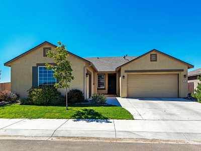 Gardnerville Single Family Home Active/Pending-House: 1217 Lasso