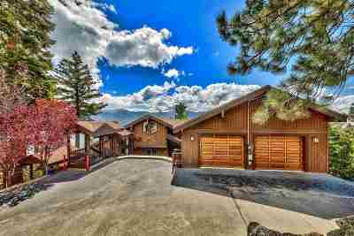 Crystal Bay Single Family Home For Sale: 480 Pahute Rd