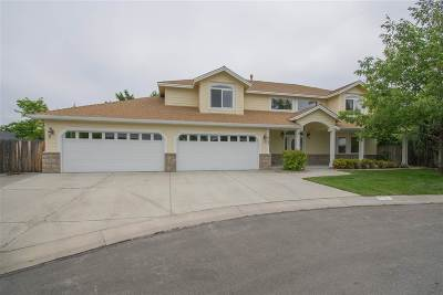 Carson City Single Family Home Active/Pending-Loan: 2049 Amberwood