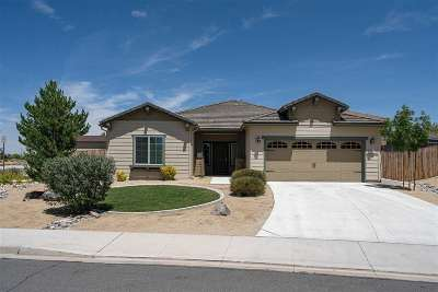 Sparks Single Family Home Price Reduced: 4898 Mato Ct