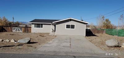 Gardnerville Single Family Home For Sale: 1486 Muir Drive