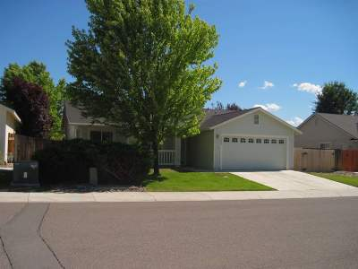 Gardnerville Single Family Home Active/Pending-Loan: 1379 Brooke