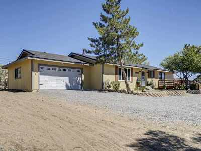 Washoe Valley Single Family Home Active/Pending-Loan: 1468 Eunice Way