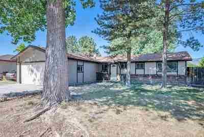Carson City Single Family Home For Sale: 1404 Stanford