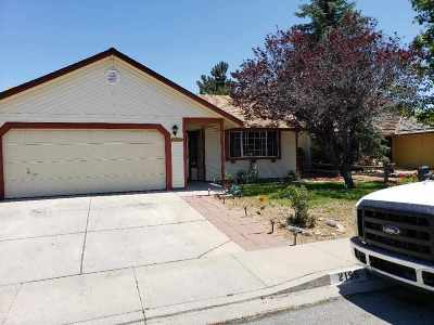 Carson City Single Family Home Price Reduced: 2155 Jodi Lane