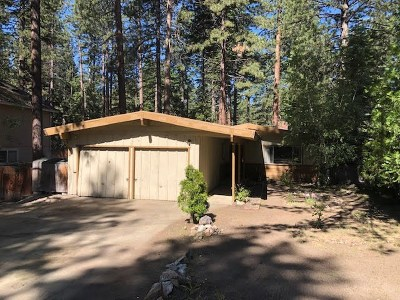 Tahoe City, Stateline, Zephyr Cove Single Family Home Active/Pending-Loan: 190 Meadow Ln
