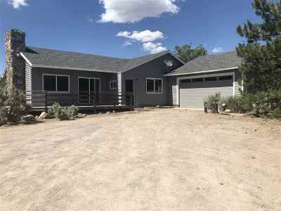 Washoe Valley Single Family Home Active/Pending-Loan: 2270 Eastlake Blvd