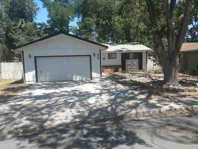 Sparks Single Family Home For Sale: 3470 Strasser Drive