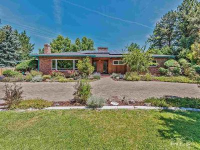 Reno Single Family Home For Sale: 75 Southridge