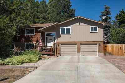Reno Single Family Home Active/Pending-Loan: 13460 Mahogany Drive