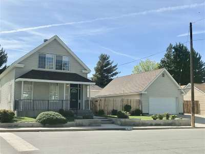 Carson City Single Family Home Price Reduced: 412 Thompson