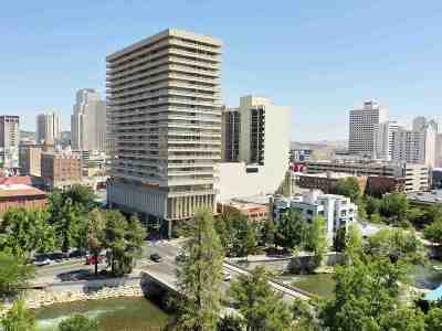 Washoe County Condo/Townhouse For Sale: 100 N Arlington Ave #9F
