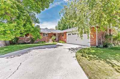 Carson City Single Family Home Active/Pending-Call: 1820 Pyrenees Street